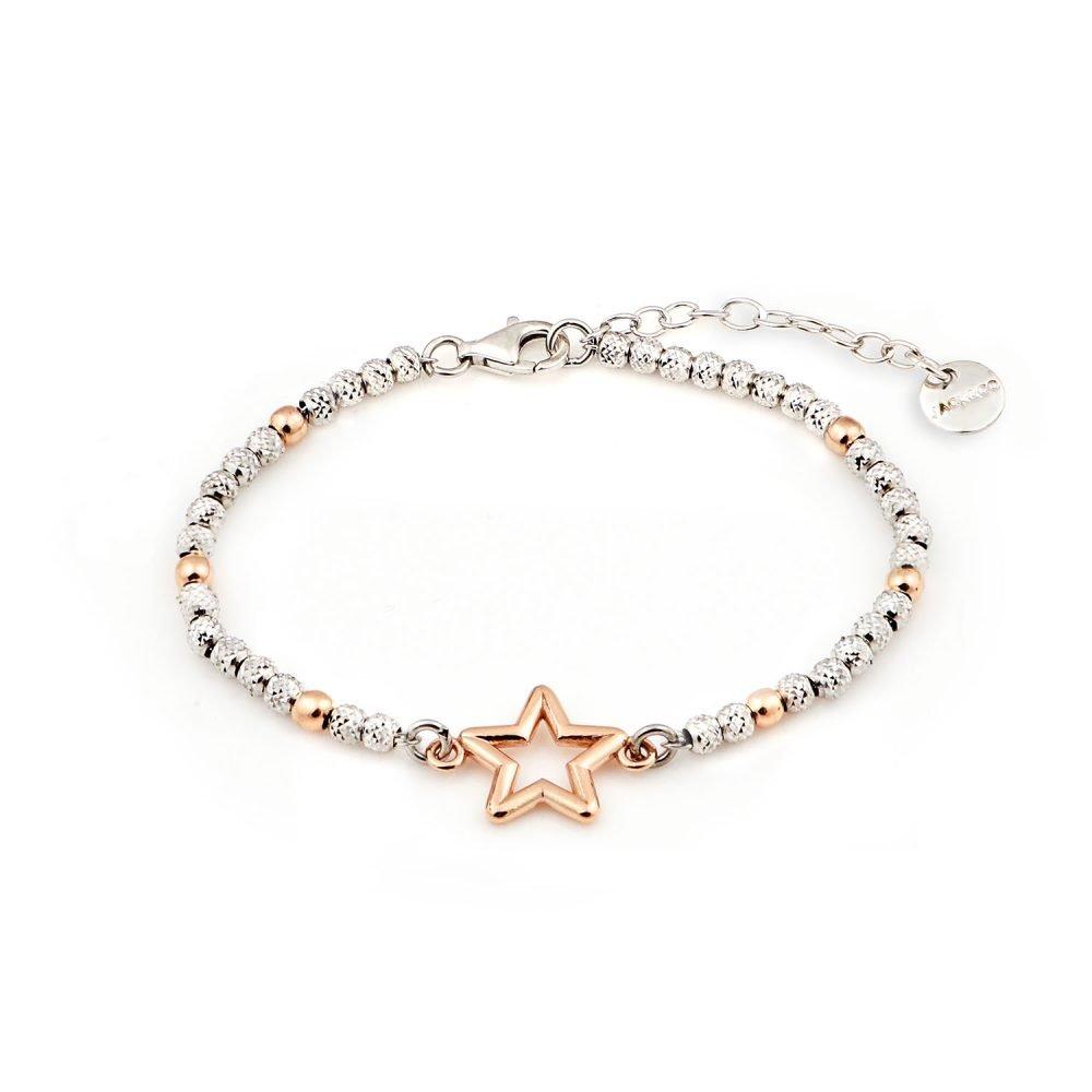 Bracciale Glamour Stella Rose Gold