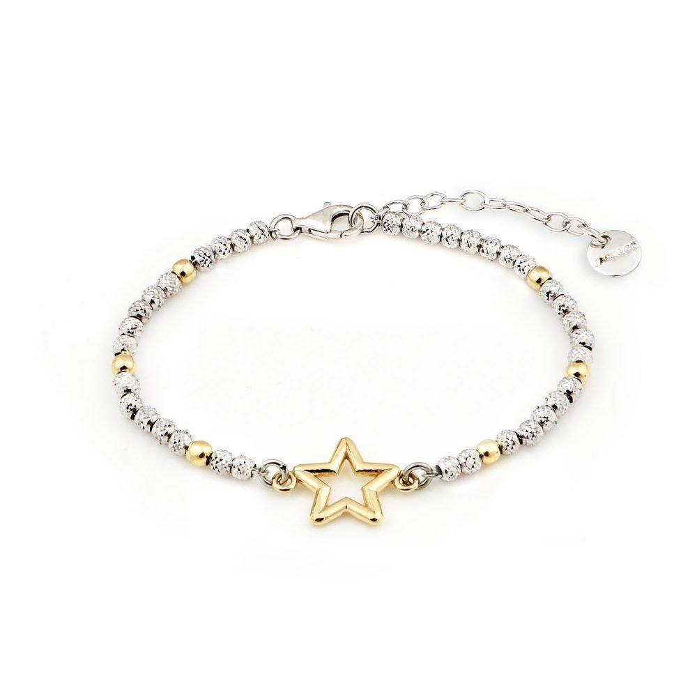 Bracciale Glamour Stella Gold